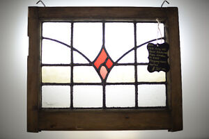 SALE - Beautifully Restored Stained Glass Panel From The UK