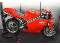 DUCATI 998 STUNNING CONDITION JUST HSD FULL SERVICE