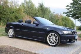 2005 BMW 3 Series 3.0 330Ci M Sport 2dr CONVERTIBLE, AUTO, FSH, 2 KEYS, SAT-NAV