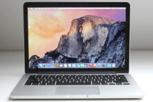 Macbook Pro Retina Core i5/8G/256G/13''…... 799$.. Tech Top
