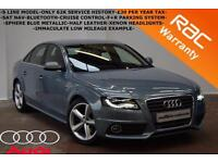 2011 Audi A4 2.0TDI S Line-ONLY 62K-SAT NAV-B/TOOTH-CRUISE-F+R PARKING SYSTEM-