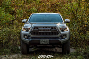 TP-Style Front Grille (ABS Black) w/ DIY Emblems Fit 16-18 Toyot