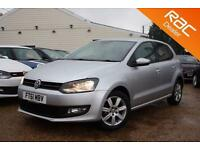 2012 61 VOLKSWAGEN POLO 1.2 MATCH 5D 59 BHP - RAC DEALER