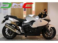 2014 BMW K1300S Silver 4,075 Miles 2 Owners Immaculate