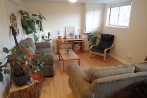 1 bedroom is available immediately in a spacious 3 bedroom unit!
