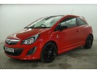 2012 Vauxhall Corsa LIMITED EDITION Petrol red Manual