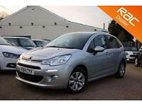2014 14 CITROEN C3 1.2 VTR PLUS 5D 80 BHP - RAC DEALER