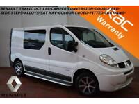 2011 Renault Trafic 2.0dCi (Sat Nav) SL27dCi 115-CAMPER CONVERTED-DOUBLE BED-