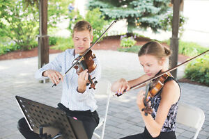 String Duo - Two Violins/Violin & Guitar - Wedding Music Kitchener / Waterloo Kitchener Area image 1