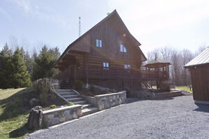 Log Home for Sale in Limoges, On