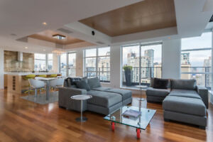 YALETOWN PENTHOUSE at THE DOMUS - 2 bed/3bath ROOF TOP HOT TUB