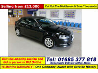 2013 - 62 - AUDI A3 2.0TDI 138 BHP 2 DOOR CONVERTIBLE (GUIDE PRICE)