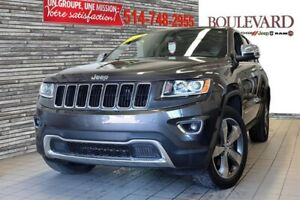 Jeep Grand Cherokee LIMITED 4X4 TOIT OUVRANT CUIR NAVI. MAGS 20'