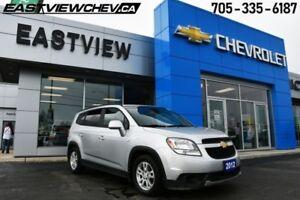 2012 Chevrolet Orlando 1LT  - Certified -  Bluetooth - $91.20 B/