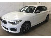 2016 WHITE BMW M135i 3.0 T SPORT PETROL AUTO 5DR HATCHBACK CAR FINANCE FR 71 PW