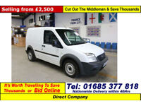 2009 - 59 - FORD TRANSIT CONNECT T200 1.8TDCI 75PS SWB VAN (GUIDE PRICE)