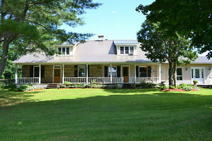 100 Acre Horse farm in Elgin with 1834 stone house West Island Greater Montréal image 3