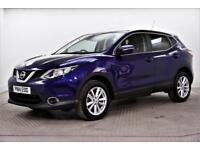 2014 Nissan Qashqai ACENTA PREMIUM DIG-T Petrol blue Manual