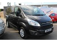 Ford Transit Custom 270 Limited 2.2TDCi 125PS L1H1 in Black + Roof Bars - Onsite