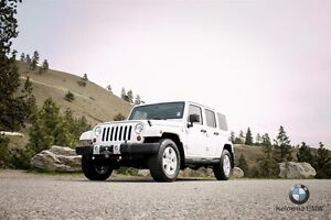 2012 Jeep Wrangler Unlimited Sahara 4D Utility 4WD