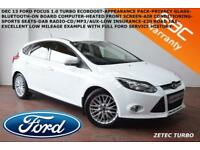 DEC 2013 Ford Focus 1.0 SCTi (100ps) EcoBoost Zetec-LOW MILES-F.F.S.H.