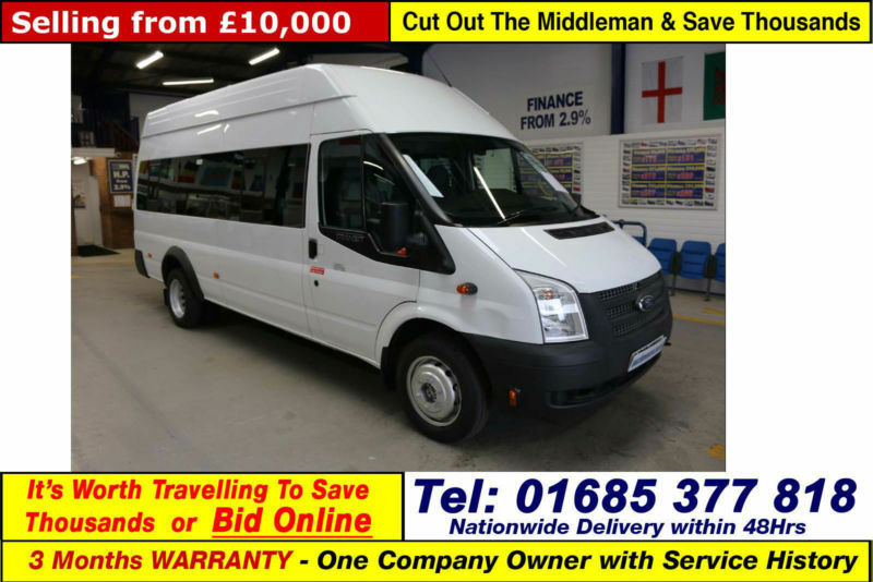 d9695c9cee 2012 - 12 - FORD TRANSIT T430 2.2TDCI 135PS RWD 17 SEAT MINIBUS (GUIDE  PRICE)