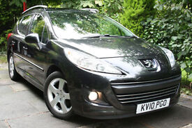 Peugeot **207 ESTATE SW** 1.6 VTi **BLACK SPORT**