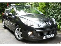 Peugeot **207 ESTATE SW** 1.6 VTi **BLACK SPORT**