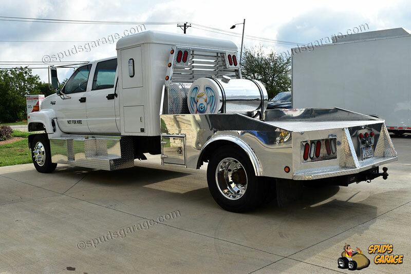 1996 Chevrolet Kodiak LoPro Crew Cab Sleeper Cat 6.6L Versatile Hauler Cat 6.6L