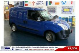 2016 - 16 - VAUXHALL COMBO 2000 S/S S-A 1.6CDTI 90PS AUTO L1H1 VAN (GUIDE PRICE)