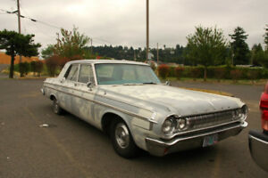 1963-64 Dodge (Polara/330) project car. 4 door or 2 door - Cheap