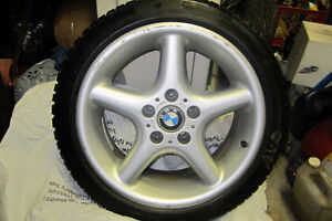 ONE LIKE NEW - WINTER TIRE & RIM - 215-45-17    L@@K !!