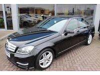 Mercedes C220 CDI BLUEEFFICIENCY AMG SPORT. VAT QUALIFYING