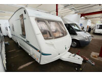2005 Abbey Safari 550 4 Berth Touring Caravan with Fixed Bed