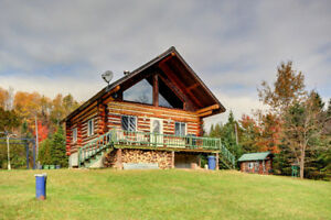 Location de chalet / région Mt  Tremblant / 100% nature 100% con