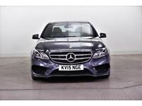 2015 Mercedes-Benz E Class E220 BLUETEC AMG LINE Diesel blue Automatic