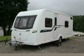 2014 Coachman Vision 565 4 Berth Fixed Single Bed Caravan Inc Mover