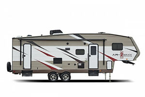 1/2 Ton Towable 5th Wheel with Double Bunks and Slide-out
