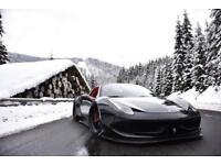 2013 13 FERRARI 458 SPIDER 4.5 F1 LIBERTY WALK - HUGE SPEC £90,00+SPENT 1/1