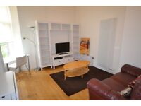 Superior one double bedroom property with meadows view in Edinburgh's exclusive Quartermile.