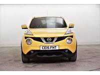 2015 Nissan Juke TEKNA DCI Diesel yellow Manual
