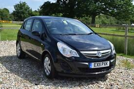2011 VAUXHALL CORSA 1.4 Exclusiv 5dr [AC]