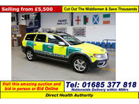 2011 - 60 - VOLVO XC70 S AWD 2.4 D5 AUTO AMBULANCE 5 DOOR ESTATE (GUIDE PRICE)