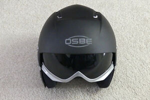 OSBE Majic Carbon Ski Helmet & Integrated Lens London Ontario image 1