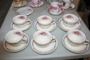 assorted teacups and antiques