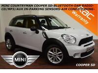 2013 Mini Countryman 2.0TD Cooper SD-PARKING SENSORS-BLUETOOTH-DAB-SPORTS SEATS-