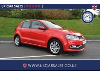 2014 Volkswagen Polo 1.4 TDI BlueMotion Tech SE Hatchback 5dr (start/stop)
