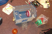 DELUXE GERBIL/RUSSIAN HAMSTER/MOUSE CAGE FOR SALE
