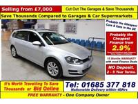 2015 - 15 - VOLKSWAGEN GOLF BLUEMOTION SE 2.0TDI 5 DOOR ESTATE (GUIDE PRICE)