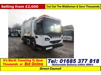 2006 - 06 - DENNIS ELITE 2 4X2 18TON AUTO EAGLE BODY REFUSE VEHICLE (GUIDE PRICE